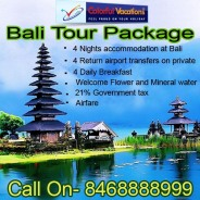 Bali Tour Package Colorful Vacations